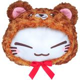 Nemuneko Kuma-gurumi Big Plush A Brown