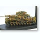 1/144 Morser Karl 60mm Self-Propelled WWII German Tank