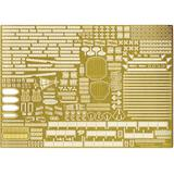 1/700 Warship Next IJN Aircraft Carrier Shinano Photo-Etched Parts (w/Ship Name Plate)