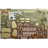 1/72 JGSDF Type 99 155mm Self-Propelled Howitzer Photo-Etched Parts