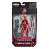 Marvel - Hasbro Action Figure: 6 Inch: Legends - Deadpool Series 2.0: #03 Lady Deadpool