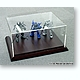 Acrylic Display Case w/Wooden Base