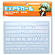 EXP Decal Alphabet 01 White