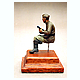 1/35 Soviet Infantry Tankrider Seated WWII #2