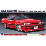 1/24 Nissan Skyline GTS-X Twincam 24V Turbo (R31) Late Production Type