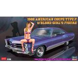 1/24 1966 American Coupe Type P w/Blonde Girls Figure