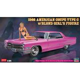 1/24 1966 American Coupe Type C w/Blonde Girl Figure