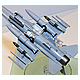 1/72 Aircraft Weapons IX U.S. Joint Direct Attack Munitions & Target Pods
