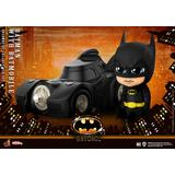 Cosbaby Batman (Size S) Batman with Batmobile