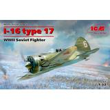 1/32 I-16 Type 17, WWII Soviet Fighter
