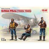 1/32 British Pilots (1939-1945) (3 Figures)
