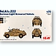 1/72 Sd.Kfz.222 German Light Armored Vehicle