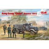 1/35 Army Group Center (Summer 1941) Kfz.1, Typ L3000S, German Infantry (4 figures), German Drivers (4 figures)