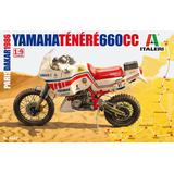 1/9 Yamaha Tenere 660 1986 Paris-Dakar Rally (Japanese Manual Included)