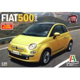 1/24 Fiat 500 (2007) (Japanese Manual Included)
