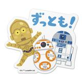Star Wars: Die-Cut Sticker 02 Droid illustration by Takashi Mifune