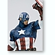 1/6 Movie Fine Art Statue: Captain America Completed Coldcast