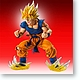 Chozou Art Collection: Super Saiyan Son Gokou (Goku)