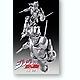 Super Action Statue Silver Chariot Season 5