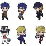 JoJo's Bizarre Adventure: Rubber Strap Collection (Part 1) 1 Box 6pcs (Reissue)