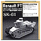 1/35 Renault FT Tank Track Set