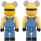 BE@RBRICK Stuart & Kevin 2Pack (Despicable Me 3)