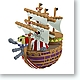 One Piece Yurayura Rocking Pirate Ship Collection #3: 1 Box (6pcs)