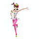 1/7 Brilliant Stage Ami Futami Princess Melody Ver. PVC