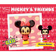 Collectable Glass Figure Minnie Mouse