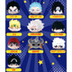 Weekly Shonen Jump 50th Anniversary Jump All Stars PoteKoro Mascot Vol.2 (Reissue): 1 Box (10pcs)