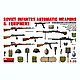 1/35 Soviet Infantry Automatic Wepons & Equipment
