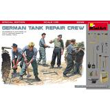 1/35 German Tank Repair Crew. Special Edition