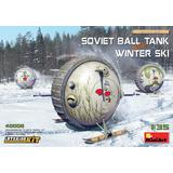 1/35 Soviet Ball Tank w/ Winter Ski. Interior Kit