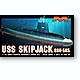 1/72 Nuclear-Powered Fast-Attack Submarine USS Skipjack SSN-585