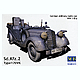 1/35 Sd.Kfz.2 Type 170VK German Military Radio Car WWII Era