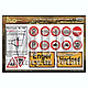 1/35 German Road Signs 1930s Onwards #2