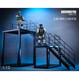 1/12 Display Diorama Steel Scaffolding A