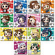 Minicchu THE IDOLM@STER Trading Square Can Badge Collection 1: 1 Box (14pcs)
