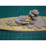 1/700 German Battleship Bismarck 1944 Wood Deck Sticker (for Pit-Road)