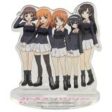 Girls und Panzer: Panzer IV Ausf.H (D-Spec) Ending Ver. Semi-Painted Plastic Model Kit with Anglerfish Team Acrylic Figure