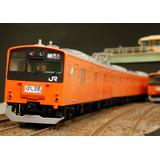 1/80 JR East Series 201 Multi-System Train (Chuo Line) KUHA201, KUHA200 Kit