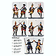 1/32 Prussian Soldiers 1756 (11pcs)