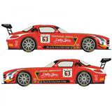 1/24 Mercedes SLS GT3 #63 Spa 24h 2014 (Black Falcon) (For Fujimi)