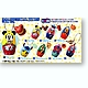 Disney Matryoshka Mascots 1 Box (8pcs)