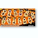 Disney Character Halloween Cookie Chain Mascot 1 Box (12pcs)