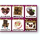 Chocolate Paradise Magnets 1 Box (6pcs)