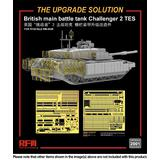 1/35 British Main Battle Tank Challenger 2 TES Photo-Etched Parts