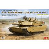 1/35 M1A2 SEP Abrams TUSK I /TUSK II with Full Interior