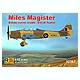 1/72 Miles Magister British/ German/ Turkey Air force