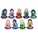 Demon Slayer: Kimetsu no Yaiba: Rubber Stand Collection Vol.2 1 Box 9pcs